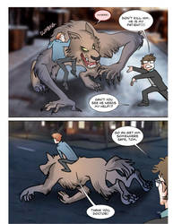 Werewolf Au Page 69 by theperfectbromance