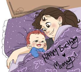Happy Birthday, Mummy! by applehead302