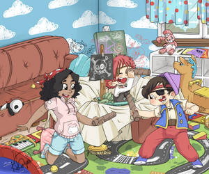 Pirate Babysitting! Version 1 by applehead302