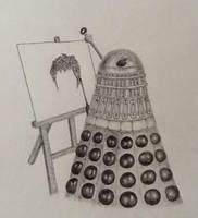 Create, Don't EXTERMINATE! (pencil) by neeltjelena