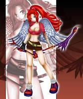 Cherry Angel Commission by Bastet-sama