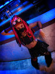 Cyber Goth Costume by Bastet-sama