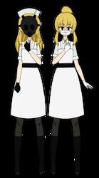 Kisekae - The Nurse by SanguineCitrus