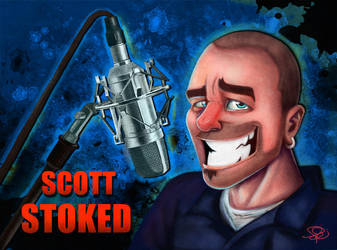 Scott Stoked - 'Steve' by SkeletalKey