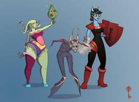 Space Characters by SkeletalKey