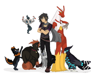 PTS: Gaelen and Team by SnowAngelRika
