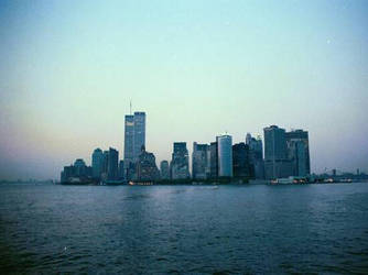 New York City Skyline by nikonraccoon