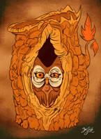 Owltober  -  Long Night by Themrock
