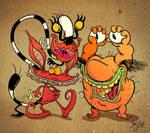 Aaaaaah, Real Monsters by Themrock