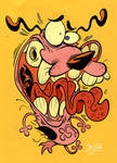 Courage the Cowardly Dog by Themrock