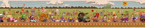The Mario Kart Collab v.0.1 by Themrock