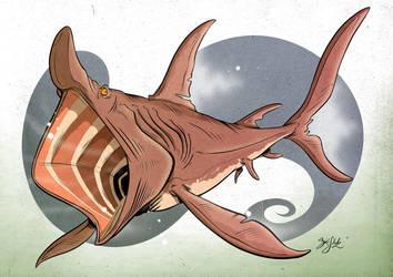 Shark 13 - Basking Shark by Themrock