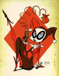 Harley Quinn by Themrock