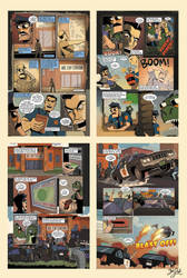 Axe Cop Issue 1 - Preview by Themrock