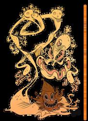 Monizrak - God of Mushrooms by Themrock