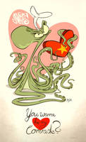 Molluskovsky's Valentine's Day by Themrock