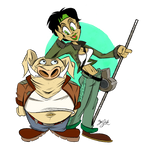 Jade and Pey'j - Beyond Good and Evil by Themrock