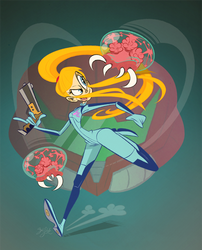 Samus Aran by Themrock