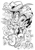 Zombie Head by Themrock