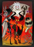 Swefs Demons by Themrock