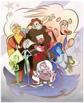 The Steven Universe Universe by Themrock