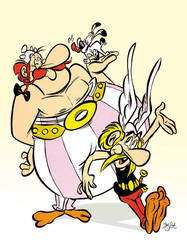 Asterix and Obelix by Themrock