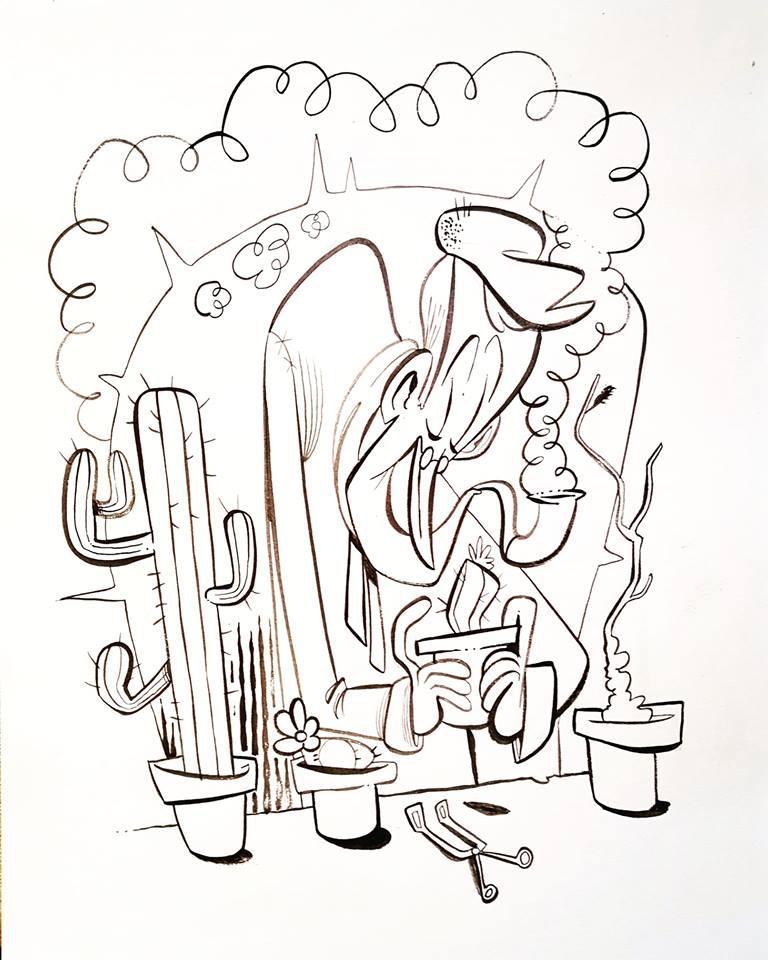 The Succulent Gardener by Themrock