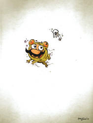 Little Mario in Frogsuit by Themrock