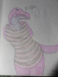 Ziva T-rex by 24cynder1998