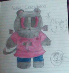Anthro!Celespheria (GIFT) by Justagummybear