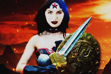 Realistic DC 2(Wonder Woman) by SharonQuinn