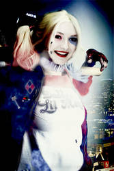Realistic DC 2(Harley Quinn) by SharonQuinn