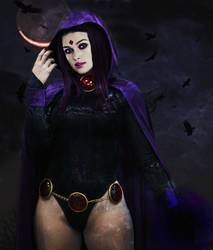 Realistic DC 2(Raven) by SharonQuinn