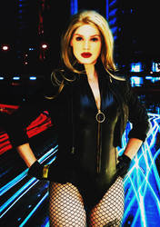Realistic DC 2(Black Canary) by SharonQuinn