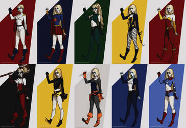 DC Blondes by SharonQuinn