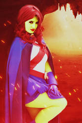 Realistic DC 2(Miss Martian) by SharonQuinn