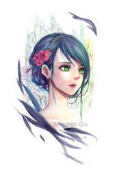Blue Portrait by oo-liquidblue-oo