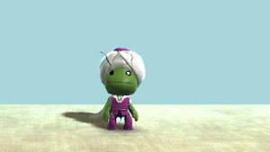 piccolo sackboy by Jump-Button