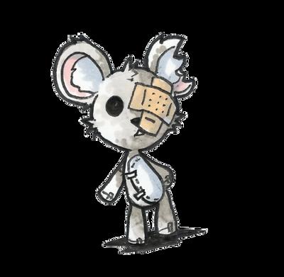cute old teddy bear by Jump-Button