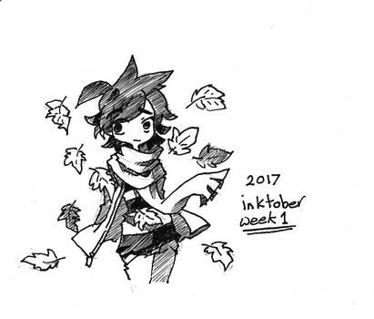 Inktober 2017 Week 1 by Jump-Button