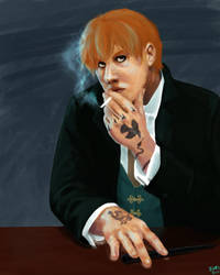 Mobster Chris for Donga by Ekki