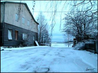 Sweden, Ostersunds roads by LeSsArt