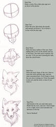 Updated Canine Face Tutorial by ulilliaka