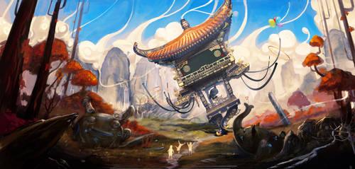 Spirit by yuchenghong