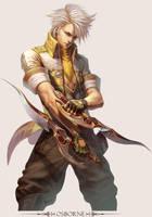 MMO Game Character design Osborne by yuchenghong