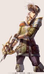 MMO Game Character design Sliger by yuchenghong