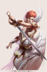 MMO Game Character design  Michael by yuchenghong