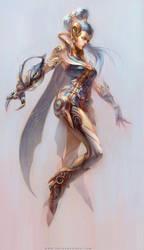 Blue angel by yuchenghong