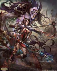 Witch Thelema by yuchenghong