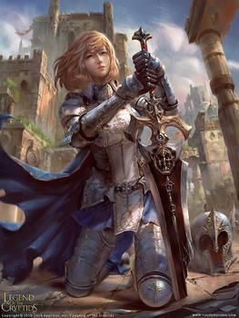 Vesa, Sword Salvager by yuchenghong